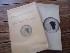 LITTERATURE - ROGER DACOSTA LES INCARNATIONS DE MADAME DE BOVARY - SEXE-APPEAL