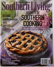 SOUTHERN LIVING Magazine SECRETS of Southern Cooking BBQ Tour SIDES Appetizers