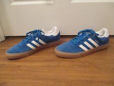 BNIB Size 13 Adidas Busenitz Vulc Skateboard Shoes Blue White Gum