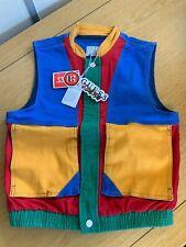 Genuine GUESS x J Balvin Women's Color- Block Denim Vest Size S Brand New