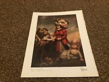 """(APBK116) PLATE/PRINT 11X9"""" GROUP OF CHILDREN BY REV MATEW WILLIAM PETERS"""