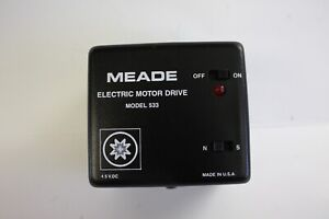 Meade #07476 Telescope Electric Motor Drive 533 for small equatorial mounts