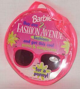 Barbie Fashion Avenue Sunglasses & Purse Kids Girls NRFP 1997