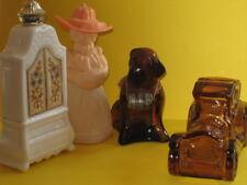 Avon 5 flacons chien St Bernard Litte Kate armoire guitare packard années 70