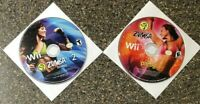 Zumba Fitness 1 & 2  (Nintendo Wii, 2010-2011) Clean & Tested Working Free Ship