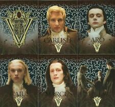 The Twilight Saga: New Moon Volturi Coven Foil Chase Card Set VO-1 thru VO-6