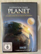 2 DVD Set + Faszination unser Planet + 7 Dokumentationen Atemberaubende Reisen