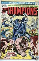 Champions 1975 series # 2 fine comic book