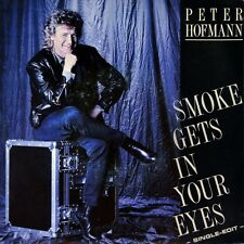 "7"" PETER HOFMANN Smoke Gets In Your Eyes PLATTERS / Love Hurts NAZARETH CBS 1987"