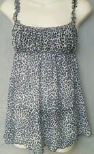 Lovely Day Lingerie Baby Doll Cami with Thong NEW size SM Leopard DG1053
