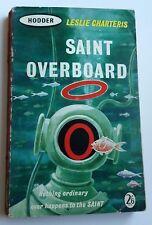 Leslie Charteris - Saint Overboard - Hodder Books 66  1961   Vintage P/B