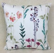 John Lewis Longstock Fabric Cushion Cover Double Sided Handmade Multi