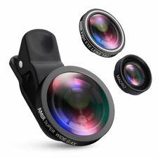 Australia AMIR Camera Lens Kit,0.4X Super Wide Angle Lens+180°Fisheye Lens &10X