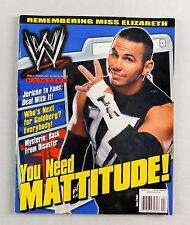 Matt Jeff Hardy Boys July 2013 Jericho Goldberg Wrestling Magazine Raw WWE WWF