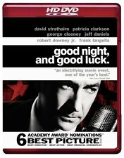 Good Night and Good Luck, brand new sealed HD DVD