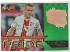 2015/16 Panini Select Soccer Jakub Blaszczykowski Błaszczykowski GREEN #1/5