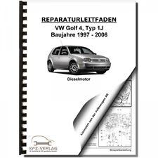 VW Golf 4 1J (97-06) 4-Zyl 1,9l Dieselmotor TDI 100-150 PS Werkstatthandbuch