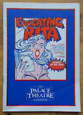 Educating Rita programme The Palace Theatre Manchester 1984 Bill Simpson