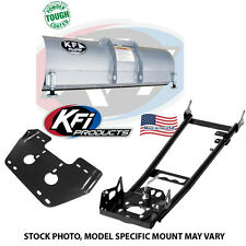 """KFI 60"""" Snow Plow Kit Blade/Push Tube/Mount ATV 105080 105000 105060"""