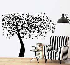 Wall Decal Tree Branch Cherry Tree Vinyl Sticker (z3632)