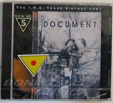 R.E.M. - DOCUMENT - CD Sigillato REM