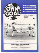 1983/84 Glenavon v Linfield - Irish League - 3rd Dec - Vol 2 No 10
