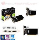 SCHEDA VIDEO DDR3 2GB GE FORCE GT 710 MSI NVIDIA 954MHZVga/Dvi/Hdmi GAMING