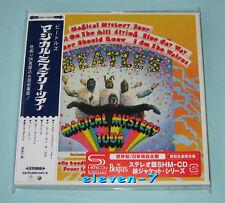 THE BEATLES Magical Mystery Tour JAPAN mini lp cd SHM 1st Press red sticker