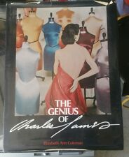 The Genius of Charles James - Hard Bound Dust Jacket First Edition RARE