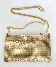 Elizabeth Arden, Brittany Spears Gold Shiny Formal Evening Bag, Crossbody Purse
