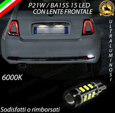 LAMPADA RETROMARCIA 13 LED T15 W16W CANBUS PER FIAT 500 RESTYLING 6000K NOAVARIA