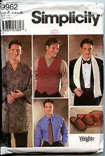 Men's Accessories - Vest Robe Scarf Slippers Cummerbund PATTERN - S-M-L-XL