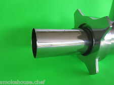 Meat grinder guard for electric meat grinder Fits All Size #12 units Stainless