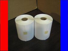 2 4x6 Zebra Direct Thermal Rolls 250/500 Labels