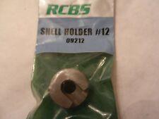 *NEW;  RCBS Shell Holder #12;  09212;  22 Hornet, 22 K-Hornet
