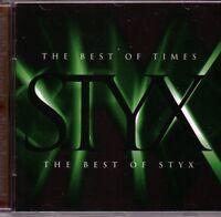 CD . STYX - Best of (NEU! dig.rem Babe Boat on the River Mr. Roboto mkmbh