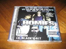 Chicano Rap CD Wicked Minds HOMIES - WRECK Baby Wicked Lil Blacky Nino Brown