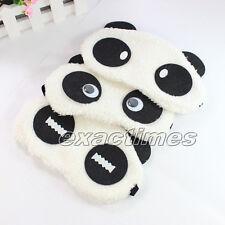 Cotton Panda Eye Mask Sleep Shade Cover Rest Relax Light Sleeping Blindfold
