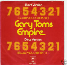 45 TOURS--GARY TOMS EMPIRE--7-6-5-4-3-2-1 --1975