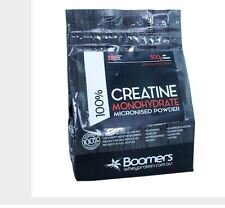 BOOMERS 100% Creatine Monohydrate micronised powder 500g