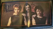 More details for motorhead - fully signed - another perfect day 1983 tour programme lemmy