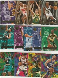90's INSERTS LOT (13) 1995-96 FLEER ULTRA MEDALLION INSERTS ONLY PENNY KEMP ZO