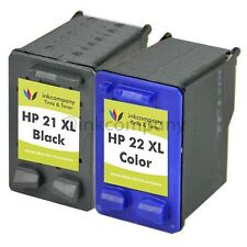 2 HP21 22 Officejet 4315 4355 J3680 PSC 1410 1415 Fax3180 1250 XL Tinte Patronen