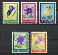 33581) Bulgaria 1977 MNH Various Bellflowers 5v