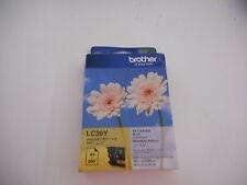 Brother LC39Y Yellow Ink Cartridge Genuine OEM