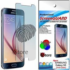 4 Pellicola Opaca Per SAMSUNG Galaxy S6 G920 G920F S 6 Antiriflesso Antimpronta