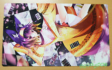 C1546 Free Mat Bag CCG Playmat Deck Games Mat Large Mouse Pad No Game No Life