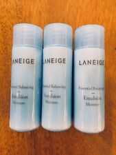 LANEIGE Essential Balancing Emulsion Moisture 25m x 3pcs 75ml US Seller