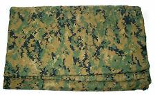 Usmc Reversible Field Tarp, Used, Blending, Camouflage, Shelter
