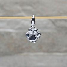 """Pendente in argento 925 con """"Zampa di gatto"""""""